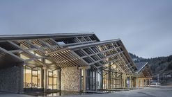 Wencheng Forest Oxygen Bar Town Parlor / GLA Design