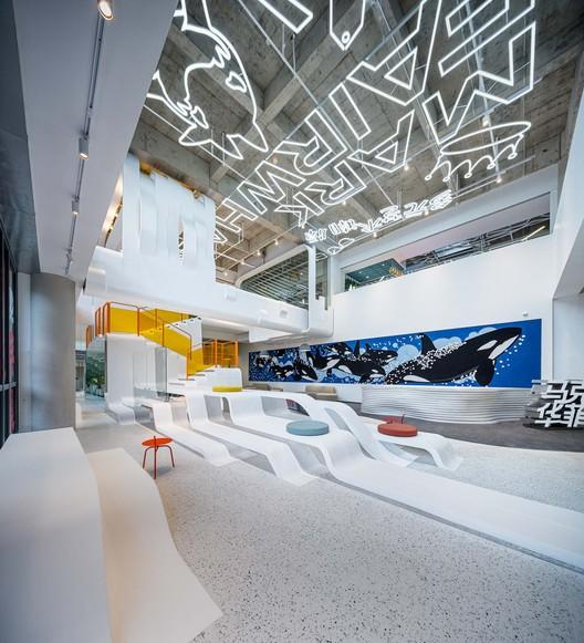 Oficinas La ballena ágil / Young Hoo Design, © Qingshan Wu