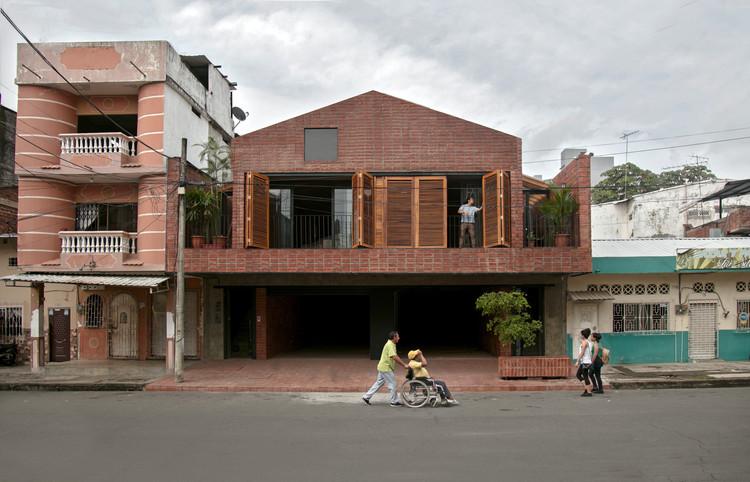 Housing and Educational Space La Casa que Habita / Natura Futura Arquitectura, Cortesía de Natura Futura Arquitectura