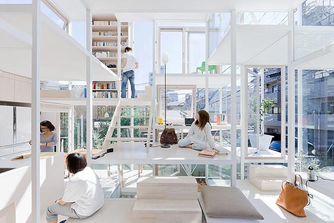 Is Coronavirus the Beginning of the End of Offices?,House in Kashiwa / Yamazaki Kentaro Design Workshop. Image © Naoomi Kurozumi Architectural Photographic Office