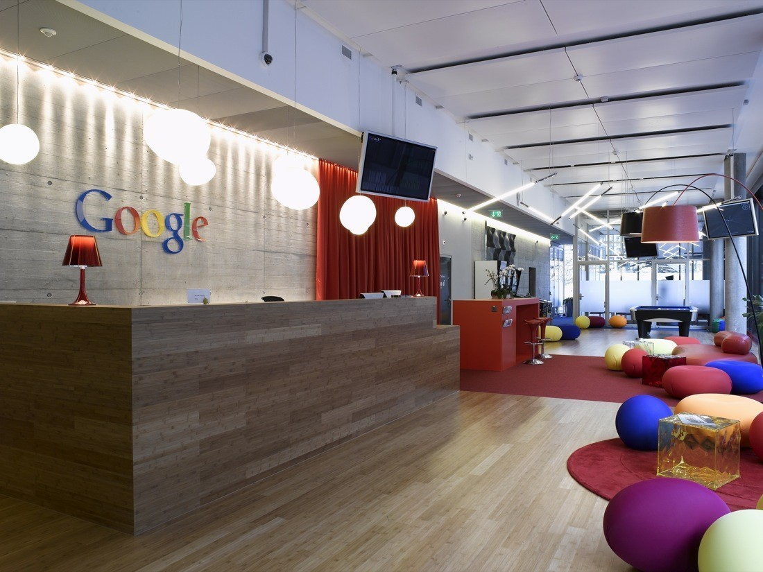 Is Coronavirus the Beginning of the End of Offices?,Google EMEA Engineering Hub / Camezind Evolution. Image © Camenzind Evolution