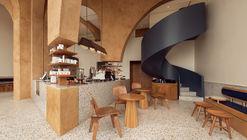 Templo Deco, Elixir Bunn Coffee Roasters / AZAZ Architects