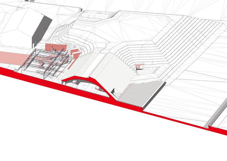Proyecto de remodelación, modelado en BIM. Image © Laimonas Bogusas