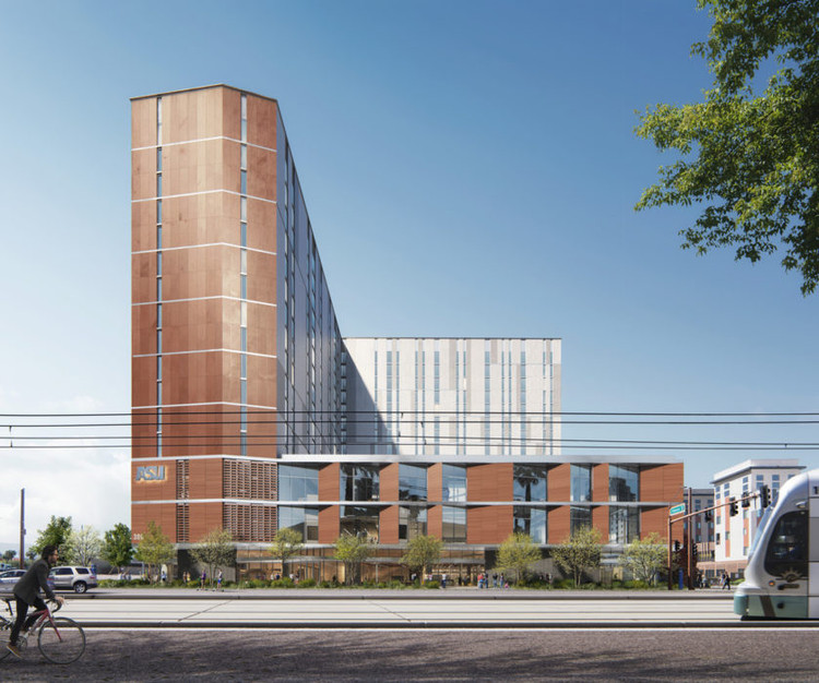 Studio Ma Breaks Ground on New Live-Work Tower Complex for ASU, Courtesy of Studio Ma