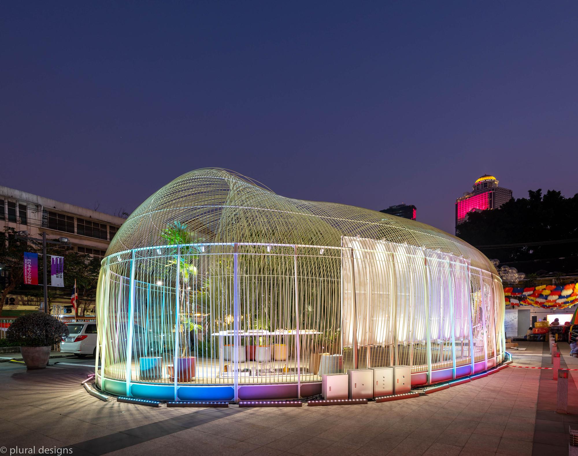 Everlasting Forest Pavilion For Bangkok Design Week 2020