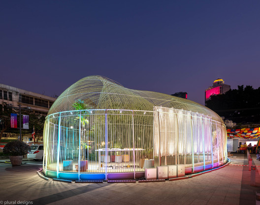 Everlasting Forest Pavilion for Bangkok Design Week 2020 / Plural designs company limited