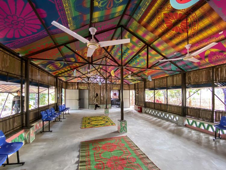 Integrated Community Center in Hindu-paraRohingya Refugee Camp / Rizvi Hassan, © Rizvi Hassan