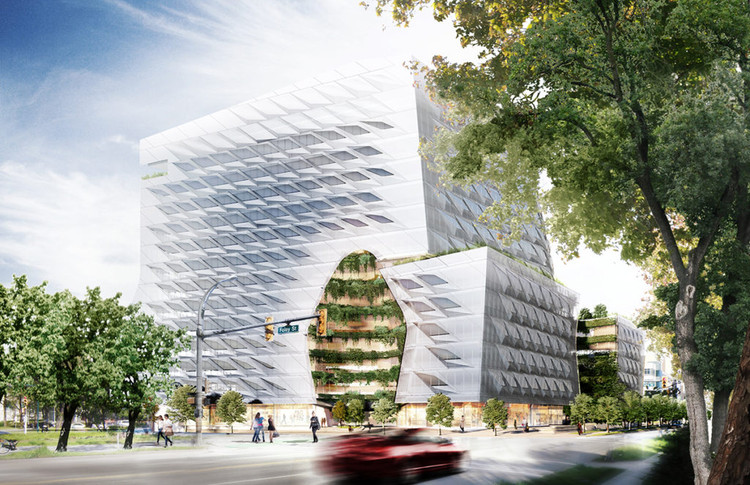 Morphosis to Design Lululemon's Global Headquarters in Vancouver, Courtesy of Morphosis Architects