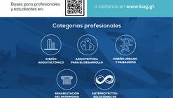 Premios Danta - Bienal de Arquitectura de Guatemala 2020