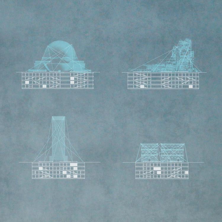 Un museo virtual para Berlín, el proyecto ganador del concurso BAM para jóvenes arquitectos, Posibles proyecciones. Image Cortesía de Estudio TAC
