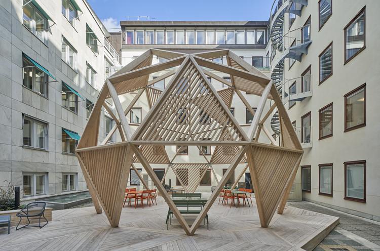 Timber Dome / Tham & Videgård, © Åke Eson Lindman