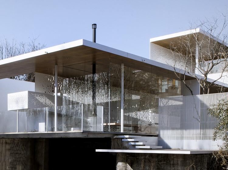 Casa paisaje / TAOA, Plataforma exterior. Imagen © Lei Tao
