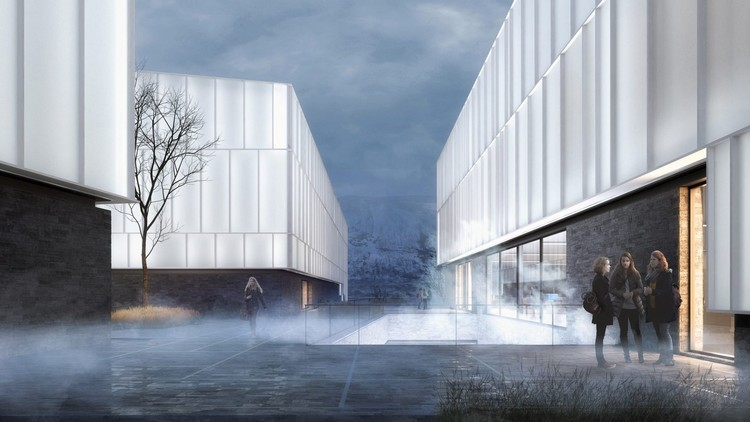 Henning Larsen projeta novo Museu Ártico da Noruega em Tromsø, Cortesia de Henning Larsen
