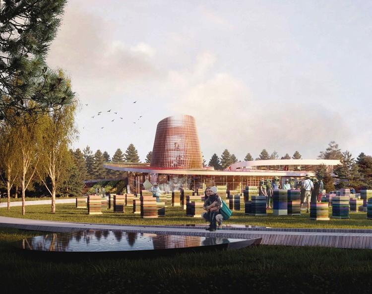 Moriyama & Teshima Design New Honey Bee Research Center in Canada, Courtesy of Moriyama & Teshima