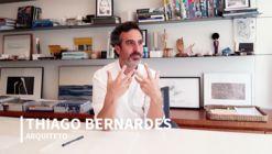 Thiago Bernardes conversa sobre projetos no Brasil e Portugal