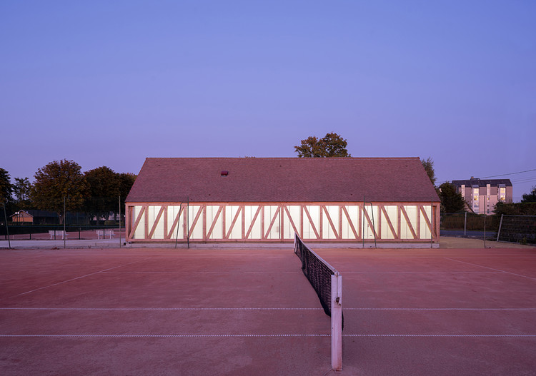 Garden Tennis Club of Cabourg / Lemoal Lemoal Architectes, © Javier Callejas