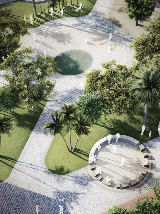 La Ciudad de lo Común, proyecto ganador del concurso Plaza de Armas, Centro Cívico y Parque de la Integración en Perú, Cortesía de Eliú Ruiz Vela