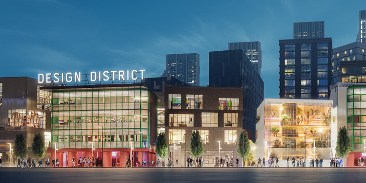 New Visuals of London's Upcoming Design District Released, Courtesy of Zetteler