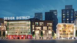 Se revelan nuevas imágenes del próximo Distrito de Diseño de Londres