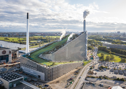 Winner for the year 2020 in architectural design | Copenhill . Image © Rasmus Hjortshøj