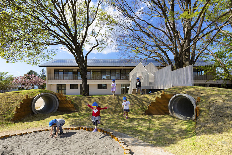 MRN Kindergarten and Nursery / HIBINOSEKKEI + Youji no Shiro, © Studio BAUHAUS