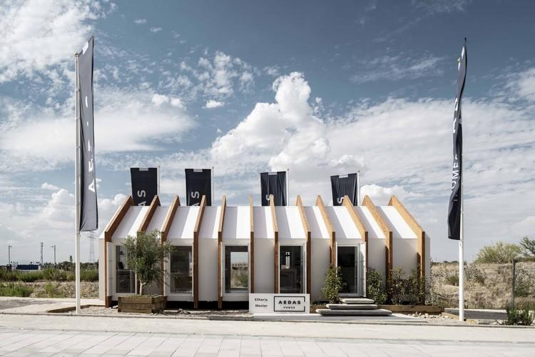 Prefabricated Pavilion Prototype / Ayllón Paradela Deandrés Arquitectos + Xesta-Rasilla Arquitectos, © Miguel Fernández-Galiano Rodriguez