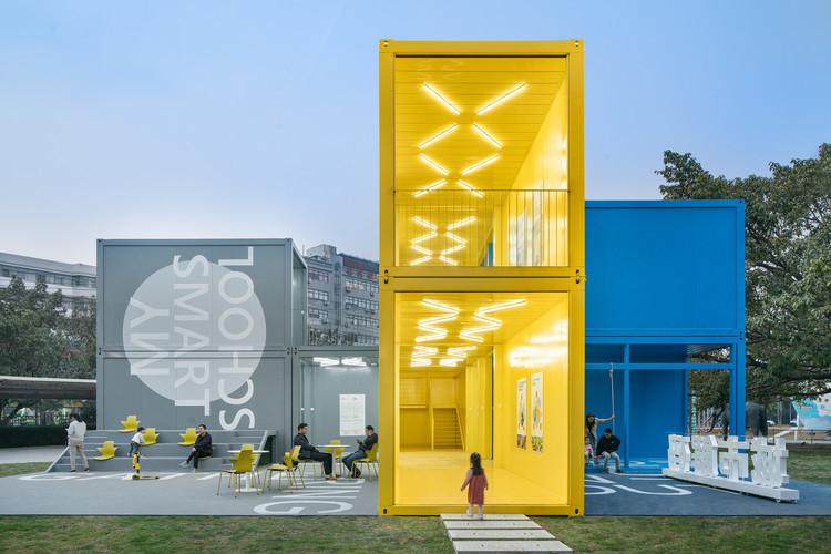 Pop-up Campus Installation – Infitity 6 / Crossboundaries, © Yu Bai