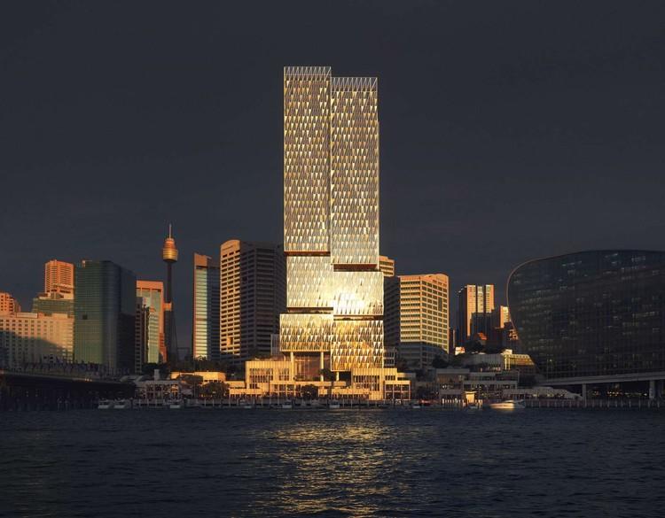 Henning Larsen Wins International Competition to Design a Tower in Central Sydney, © Henning Larsen
