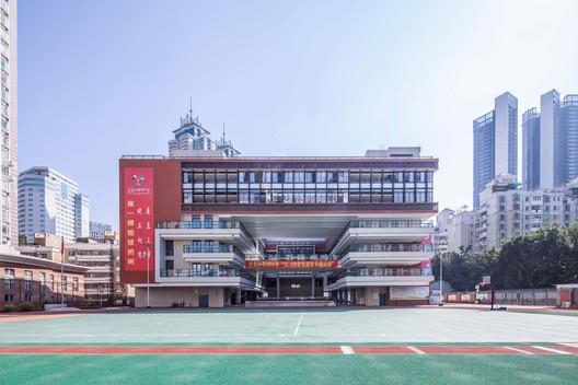 front facade. Image © Guanhong Chen
