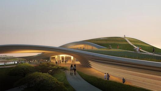 Courtesy of Kengo Kuma Associates and K2LD Architects