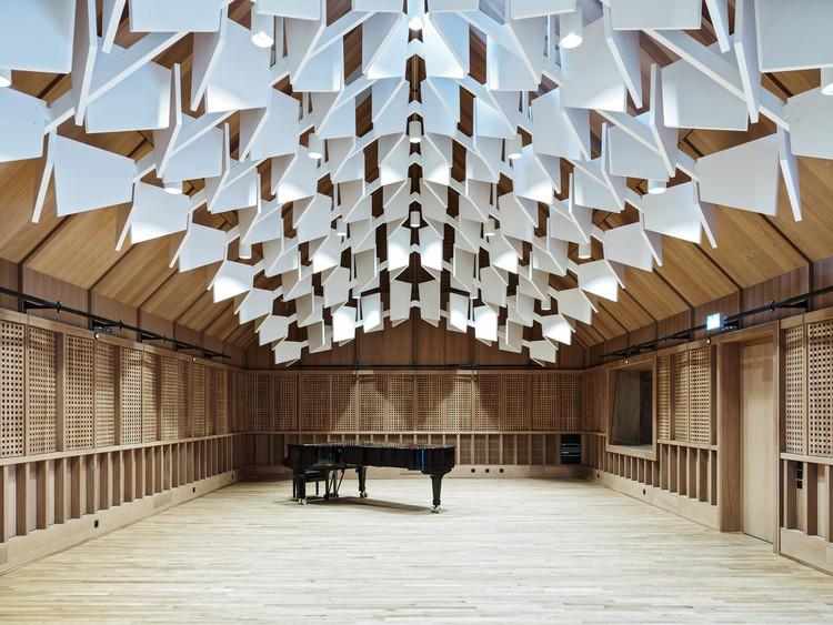 Acústica na arquitetura: só notamos quando ela é ruim, Jazz Campus / Buol & Zünd. Imagem © Georg Aerni