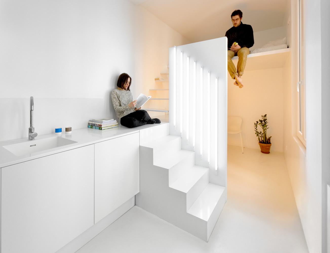 ¿Qué es el diseño de interiores (y por qué puede hacerte sentir mejor)?,Appartement Spectral / BETILLON / DORVAL‐BORY. Image Courtesy of BETILLON / DORVAL‐BORY