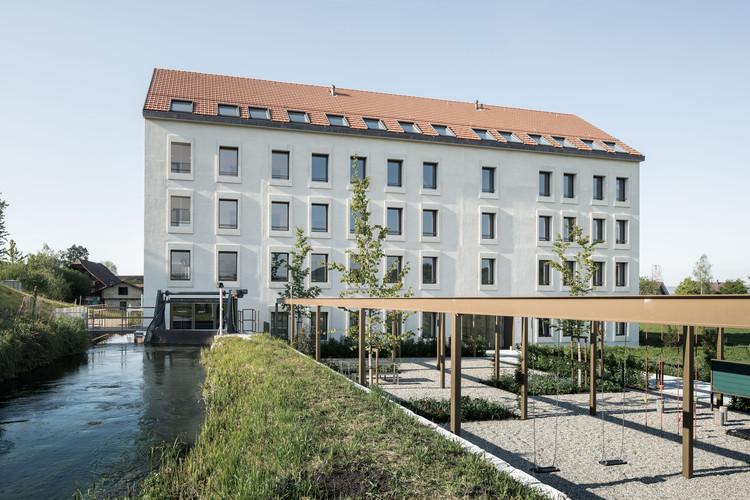 Mülihof Hotel and Residential Building / Bob Gysin Partner BGP, © Dominique Wehrli