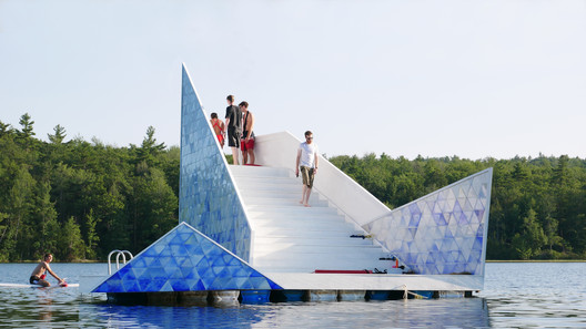 ICEBERG Diving Platform / Bulot+Collins