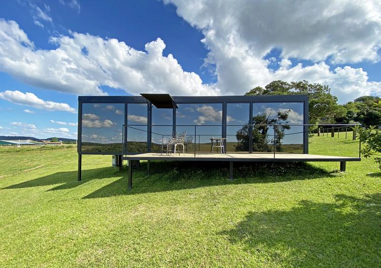Refúgio no Campo / Bruno Zaitter arquiteto, © Sergio Mendonça Jr