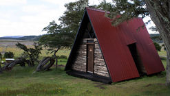 Cabina Sanitaria Parque Karukinka / SAA arquitectura + territorio