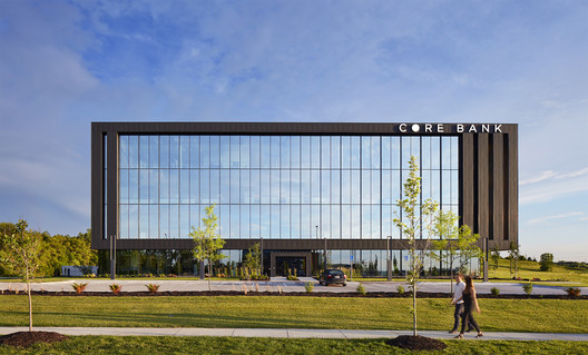 Core Bank Corporate Headquarters / Alley Poyner Macchietto Architecture