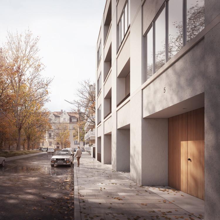 David Chipperfield and Mark Randel Design Residential Building for Euroboden in Munich, © Darcstudio for Euroboden