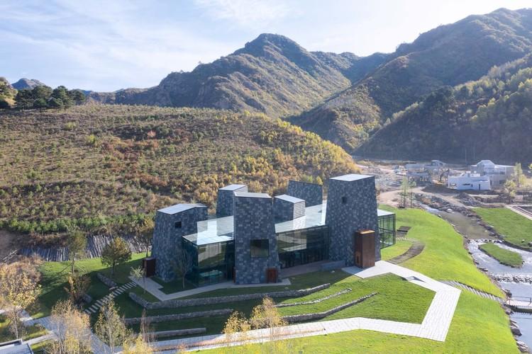 Forest Valley Hot spring Center / B.l.U.E. Architecture Studio, © Zhi Xia