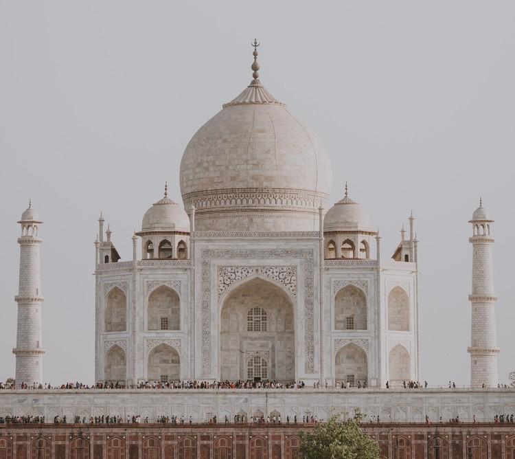 Visite mais de 4.500 museus e sítios tombados do mundo todo com o Google Arts & Culture, Taj Mahal. Foto de Annie Spratt, via Unsplash
