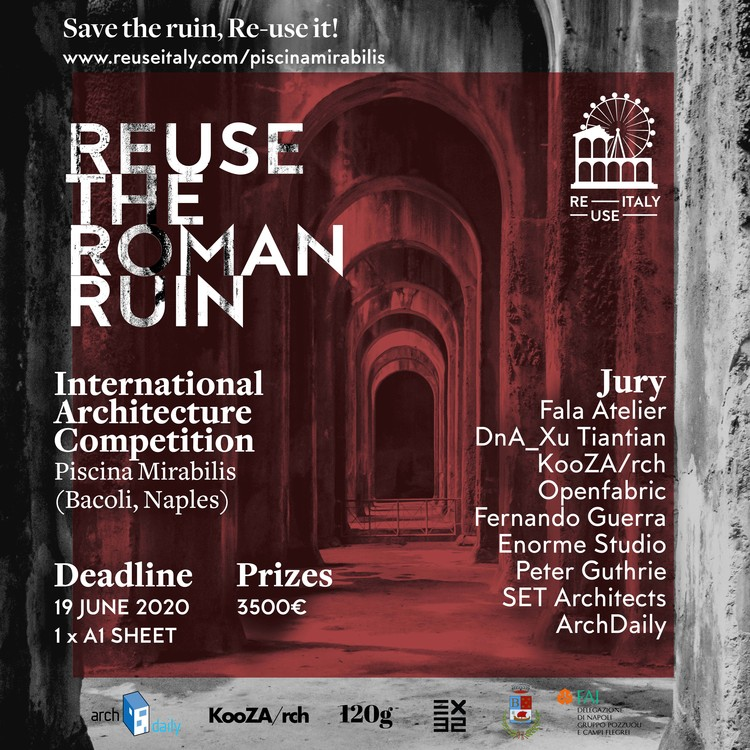 Call for Entries: Transform a Roman Ruin into a Contemporary Art Museum , Courtesy of Re-use Italy