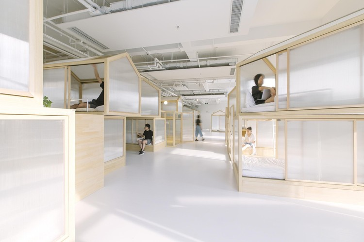 Hostel Together / Cao Pu Studio. Imagen © Zhang Zheming