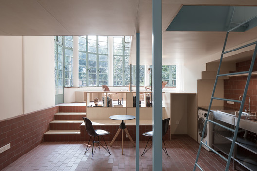 U-shaped room. Imagen © Fangfang Tian