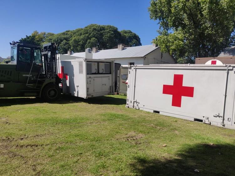 Hospital Militar Reubicable . Image © [Argentina.gob.ar] bajo licencia CC BY 4.0