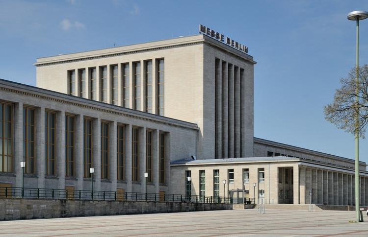 Messe Berlin. Image © Taxiarchos228 [Wikimedia] licencia de acuerdo con los términos de la Free Art License 1.3