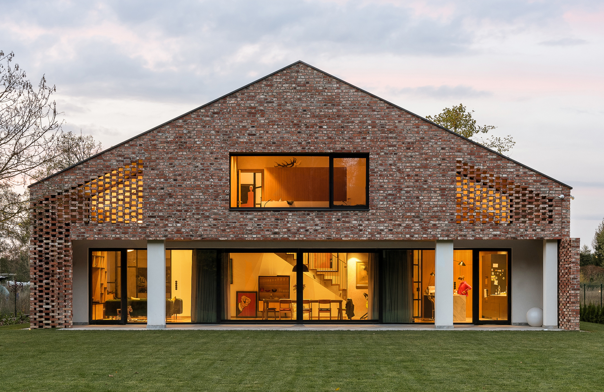 Old Brick New House Wrzeszcz Architekci Archdaily