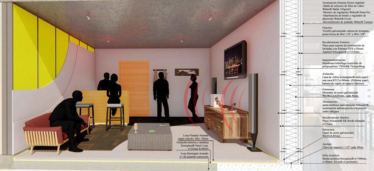 Cómo diseñar espacios acústicamente eficientes , Cortesía de Volcan