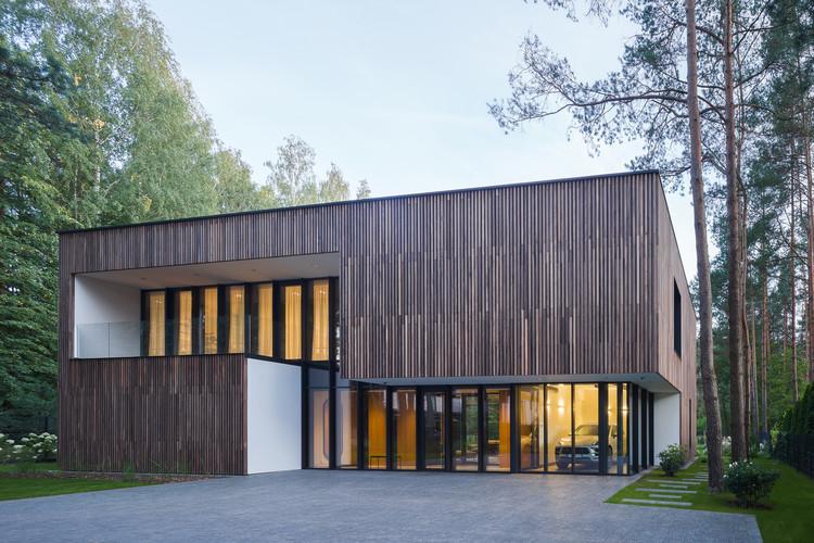 Smilgu House / Plazma Architecture Studio, © Norbert Tukaj
