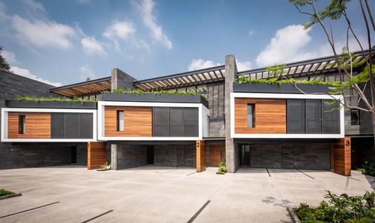 Casas inteligentes Zacatepetl Residencial / Pabellón de arquitectura