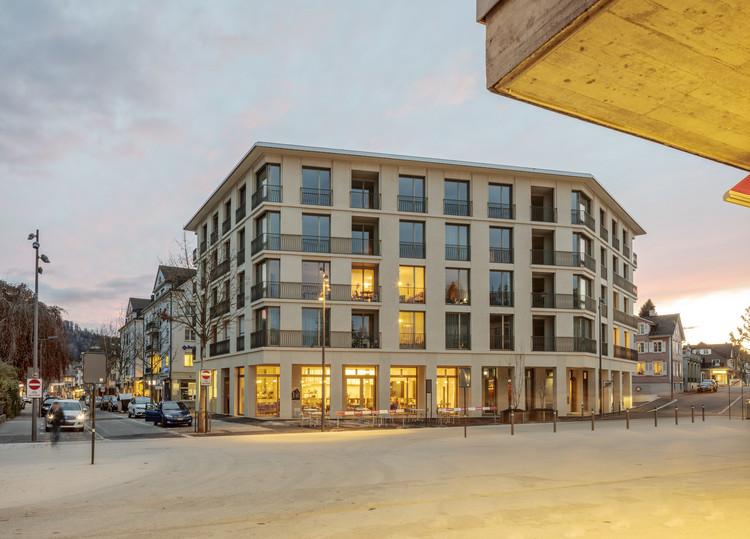 Apartamentos 5egg Flawil / Brechbuehler Walser Architekten, © Andreas Buschmann